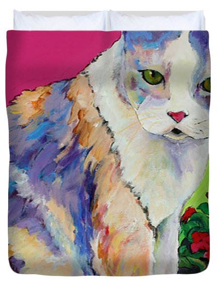 Puurl Duvet Cover by Pat Saunders-White