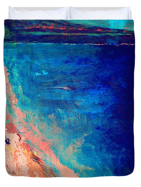 Pv Abstract Duvet Cover by Jamie Frier