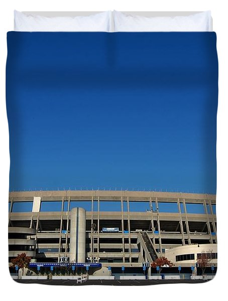 Qualcomm Stadium Duvet Cover by See My  Photos