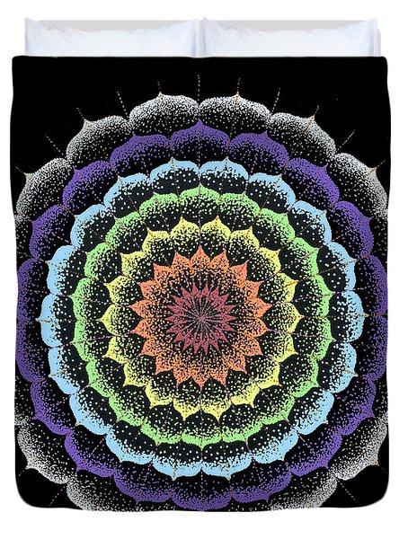 Quan Yin's Healing Duvet Cover by Keiko Katsuta