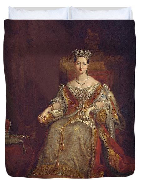Queen Victoria Duvet Cover by Sir George Hayter