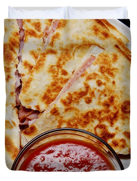Quesadilla Duvet Cover by Andee Design