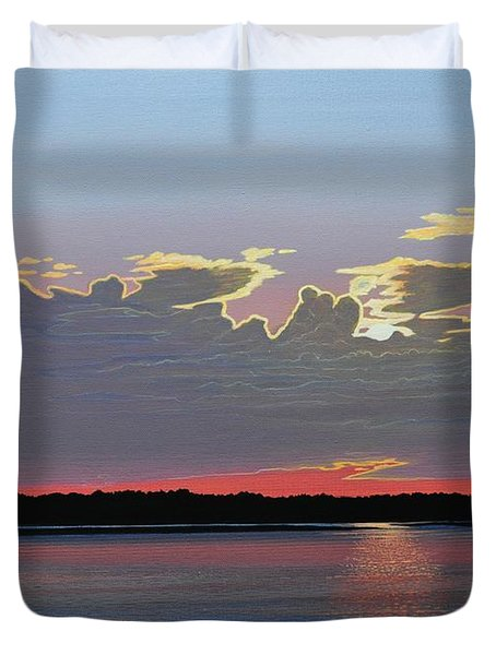 Quiet Reflection II Duvet Cover by Kenneth M  Kirsch