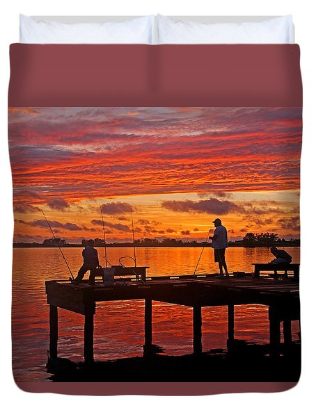 R and R Duvet Cover by HH Photography of Florida