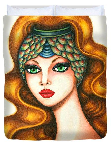 Radiant Duvet Cover by Tara  Shalton