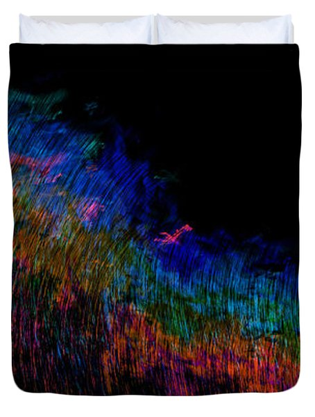 Radio Waves Duvet Cover by Christopher Gaston