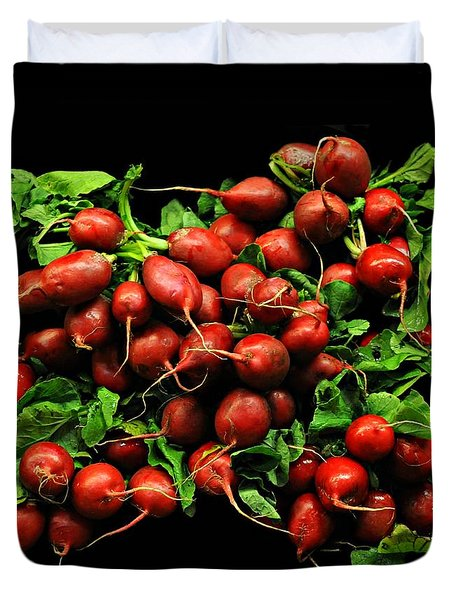 Radishes  Duvet Cover by Diana Angstadt