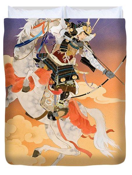 Rakujitsu Duvet Cover by Haruyo Morita