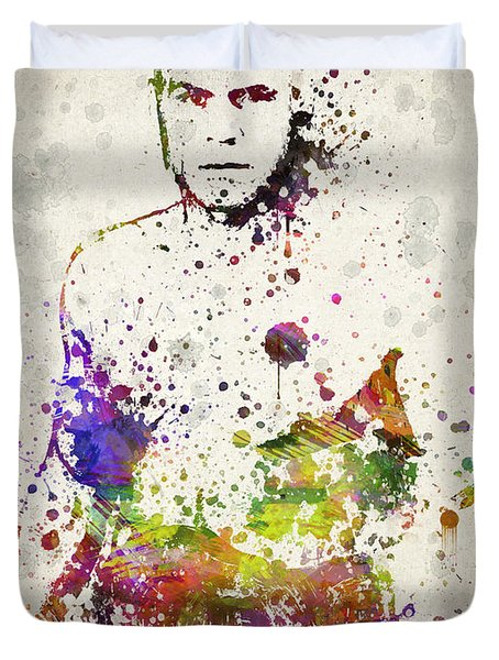 Randy Couture Duvet Cover by Aged Pixel