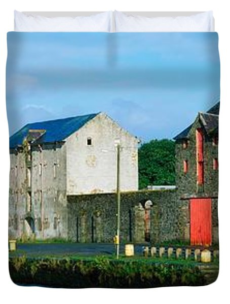 Rathmelton, Co Donegal, Ireland Duvet Cover by The Irish Image Collection