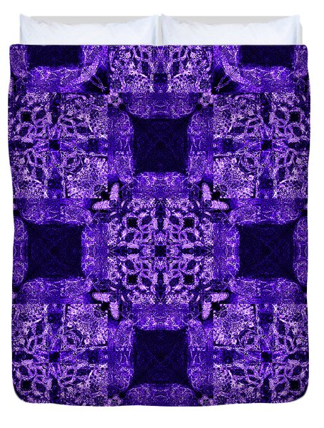 Rattlesnake Abstract 20130204m133 Duvet Cover by Wingsdomain Art and Photography