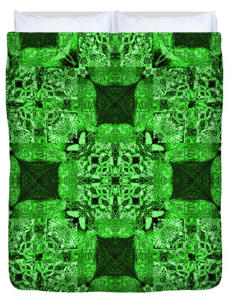 Rattlesnake Abstract 20130204p75 Duvet Cover by Wingsdomain Art and Photography