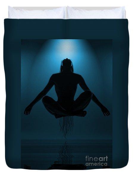 Reaching Nirvana.. Duvet Cover by Nina Stavlund