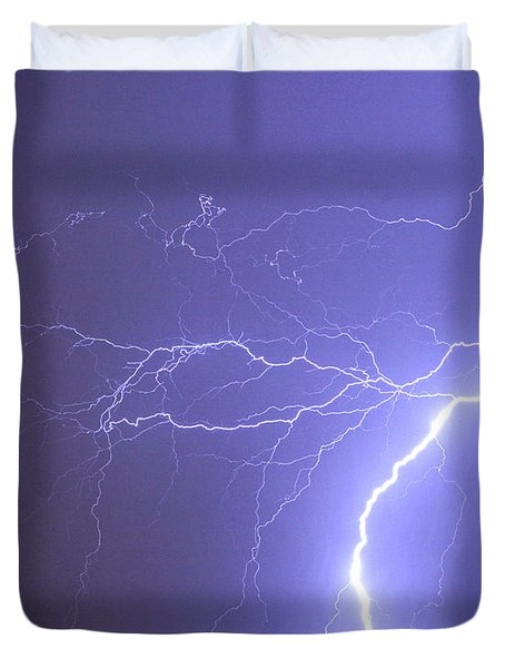 Reaching Out Touching Me Touching You Duvet Cover by James BO  Insogna
