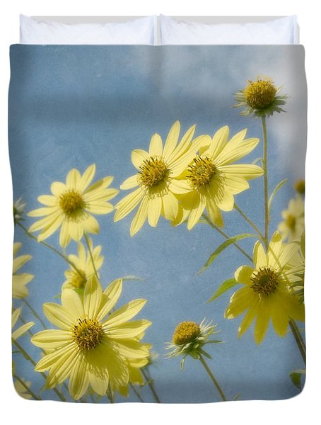 Reaching To The Sun Duvet Cover by Kim Hojnacki