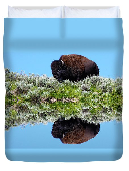 Ready For A Drink Duvet Cover by Shane Bechler
