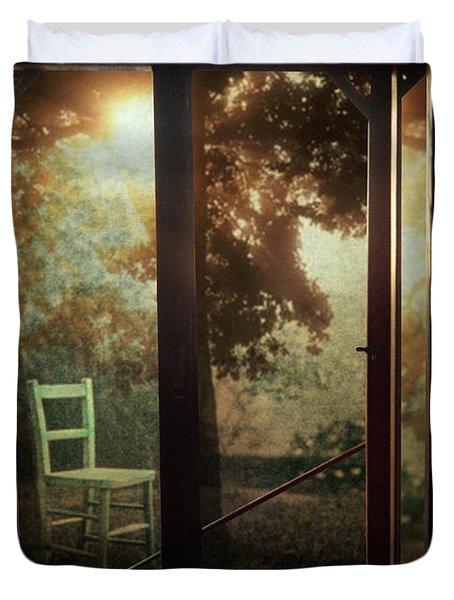 Rear Window Duvet Cover by Taylan Soyturk