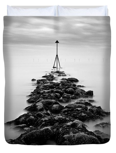 Receding Tide Duvet Cover by Dave Bowman
