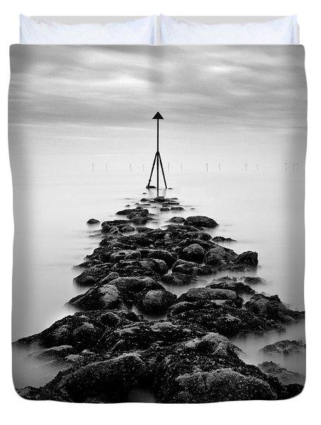 Receding Tide Duvet Cover by Dave Bowman