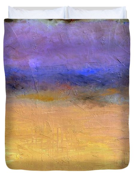 Red Sky Duvet Cover by Michelle Calkins
