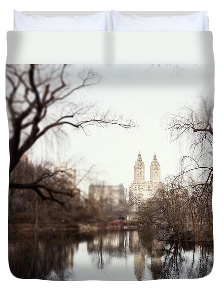 Reflected Duvet Cover by Lisa Russo