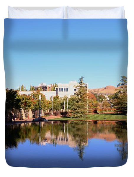 Reflection Pond Duvet Cover by Kathleen Struckle
