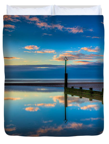 Reflections Duvet Cover by Adrian Evans