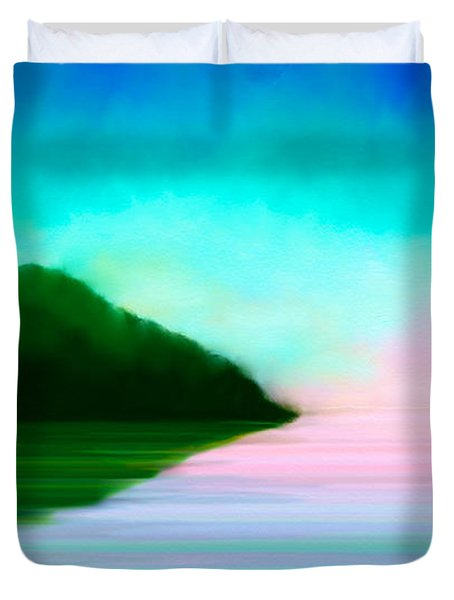 Reflections Duvet Cover by Anita Lewis