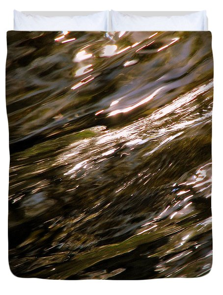 Reflections Duvet Cover by C Ray  Roth