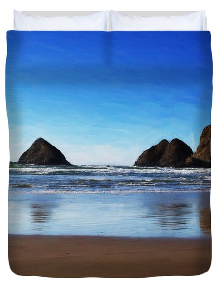 Reflections Duvet Cover by Jon Burch Photography