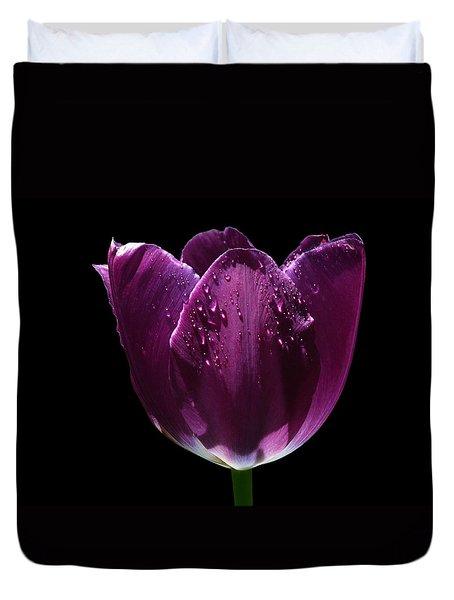 Regal Purple Duvet Cover by Doug Norkum