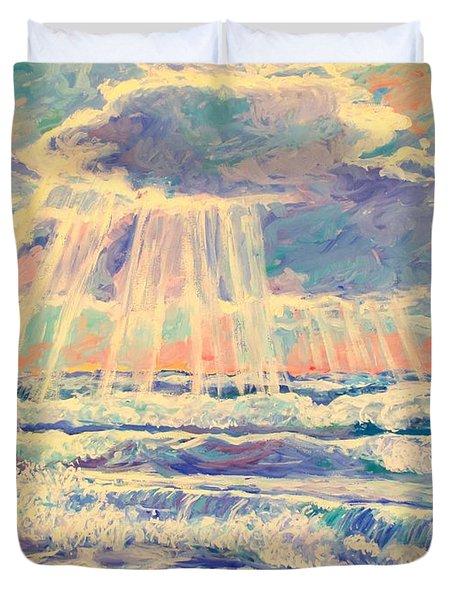 Rehoboth Light Duvet Cover by Kendall Kessler