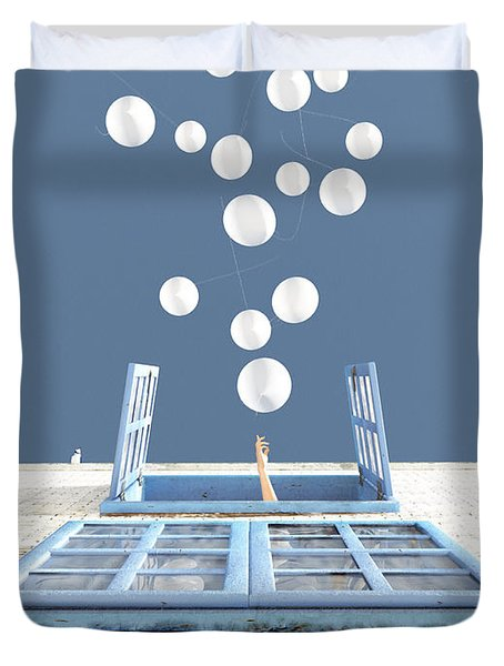 Release Duvet Cover by Cynthia Decker