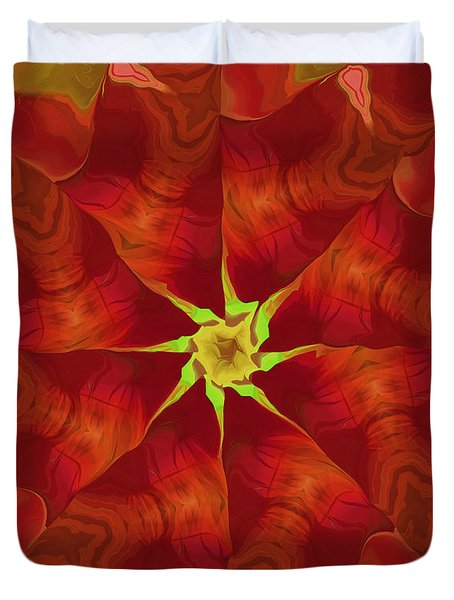 Release of The Heart Duvet Cover by Deborah Benoit