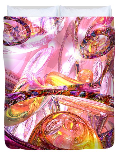Released Happiness Duvet Cover by Alexander Butler
