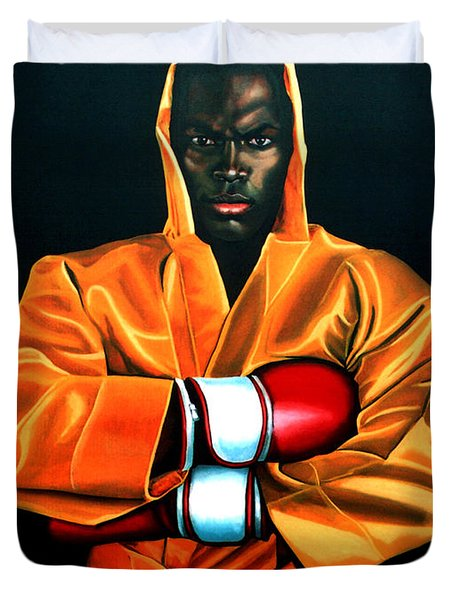Remy Bonjasky Duvet Cover by Paul  Meijering