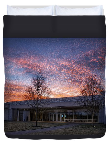 Renzo Piano Pavilion Duvet Cover by Joan Carroll