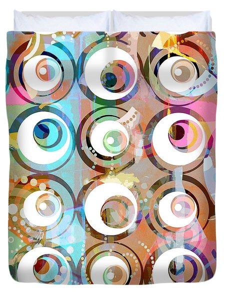 Retro Art 2 Duvet Cover by Artwork Studio