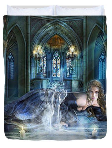 Reverence Duvet Cover by Drazenka Kimpel