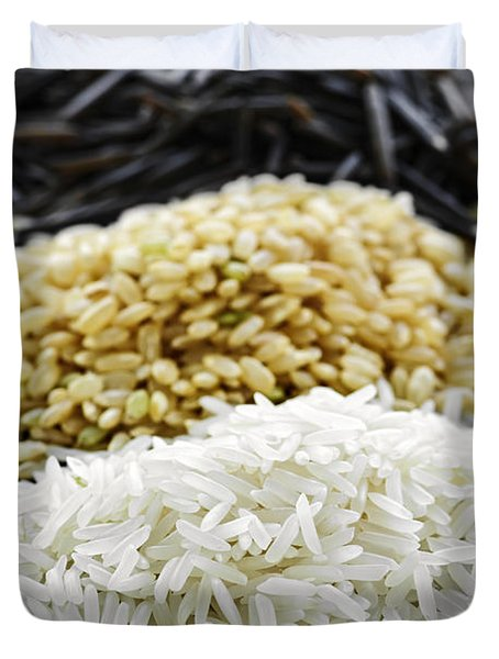 Rice Duvet Cover by Elena Elisseeva