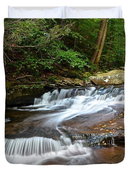 Ricketts Glen Duvet Cover by Frozen in Time Fine Art Photography