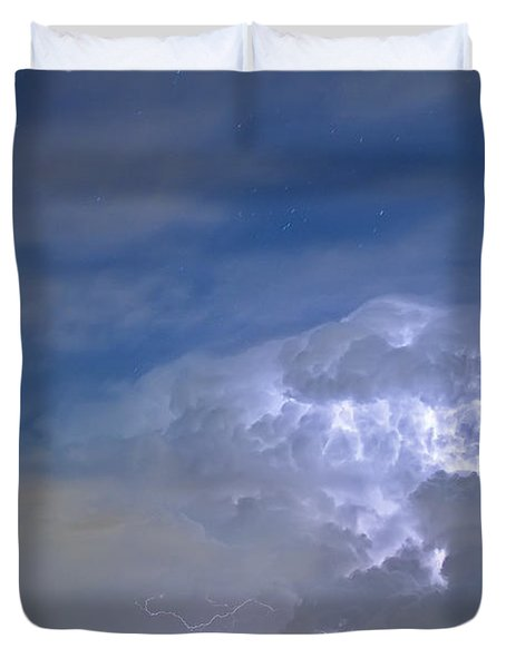 Riders On The Storm  Duvet Cover by James BO  Insogna