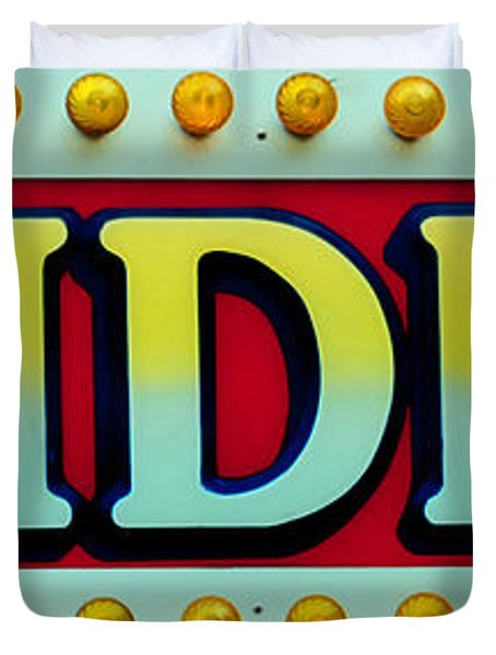 RIDES Duvet Cover by Skip Willits
