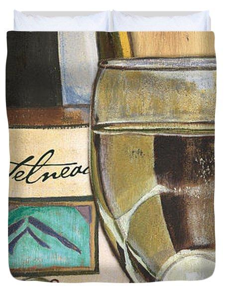 Riesling Duvet Cover by Debbie DeWitt