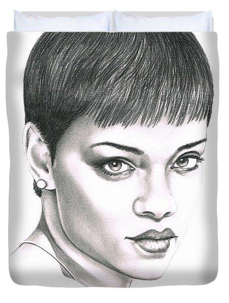 Rihanna Duvet Cover by Murphy Elliott