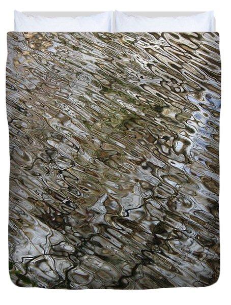 Ripples in the Swamp Duvet Cover by Carol Groenen