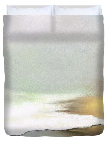 Rising Tides Duvet Cover by Frances Marino