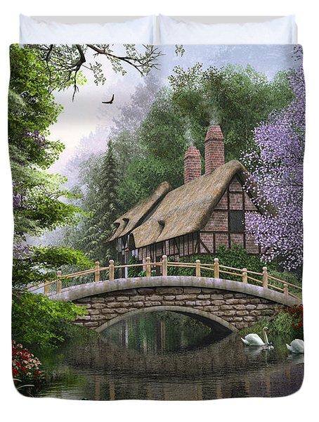 River Cottage Duvet Cover by Dominic Davison