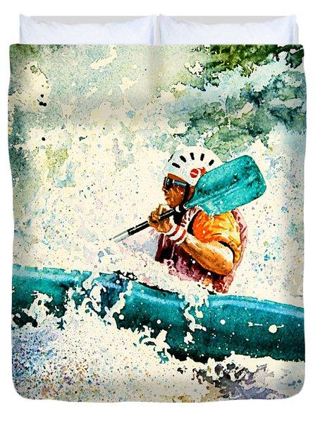 River Rocket Duvet Cover by Hanne Lore Koehler