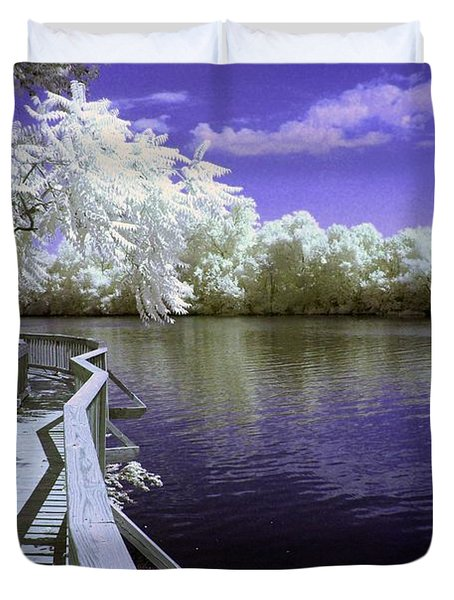 River Walk Duvet Cover by Paul W Faust -  Impressions of Light